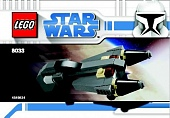 Lego Star Wars 8033 Mini General Grievous Starfighter