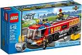 Lego City 60061 Airport fire truck Пожарная машина для аэропорта