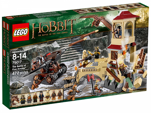 Lego Hobbit  79017 The Battle of Five Armies Битва Пяти Армий