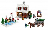 Lego 10216 Winter Bakery Shop Пекарня в зимней деревне