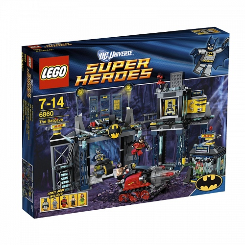 Lego Super Heroes 6860 The Batcave Пещера Бэтмена