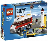 Lego City 3366 Satellite Launch Pad Пусковая платформа