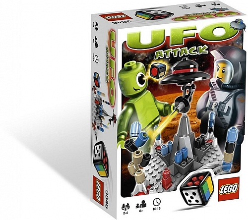 Lego Games 3846 UFO Attack