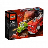 Lego Cars 9484 Red's Water Rescue Команда спасения