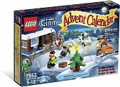 Lego City 7553 City Advent Calendar