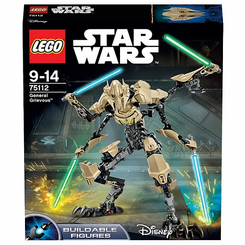 Lego Star Wars 75112 General Grievous