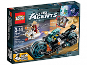 Lego Ultra Agents 70167 Invizable Gold Getaway Похищение золота