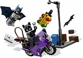 Lego Super Heroes 6858 Catwoman Catcycle City Chase