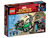 Lego Super Heroes 76004 Spider-Man: Spider-Cycle Chase Погоня на спайдерцикле