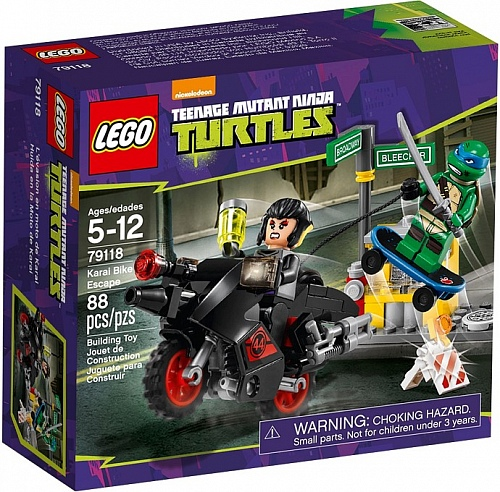Lego Ninja Turtles 79118 Karai Bike Escape