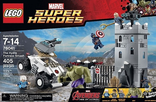 Lego Super Heroes 76041 The Hydra Fortress Smash