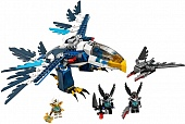 Lego Legends of Сhima 70003 Eris' Eagle Hunter Перехватчик Орлицы Эрис