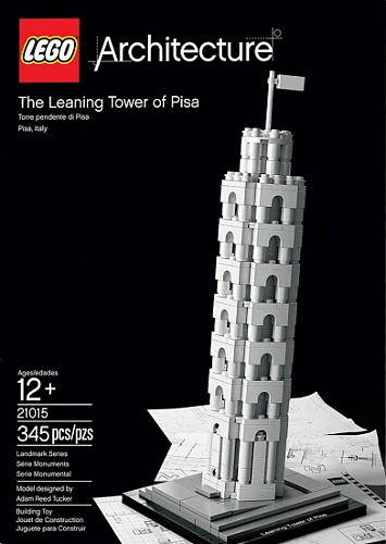 Lego Architecture 21015 The Leaning Tower of Pisa