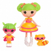 Кукла Lalaloopsy Mini 534099 Супергерой с сестрёнкой