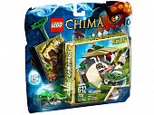 Lego Legends of Сhima 70112 Croc Chomp Крокодилья Пасть