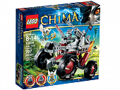 Lego Legends of Сhima 70004 Wakz' Wolf Tracker Разведчик Волка Вагза
