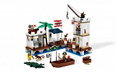 Lego Pirates 6242 Soldiers Fort Солдатский форт