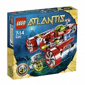 Lego Atlantis 8060 Typhoon Turbo Sub Субмарина тайфун турбо