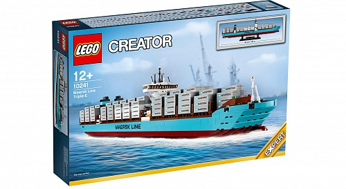 Lego Exclusive 10241 Maersk Line Triple E Контейнеровоз Маерск
