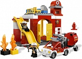 Lego Duplo 6168 Fire Station Пожарная станция