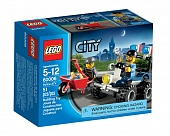 Lego City 60006 Police ATV Полицейский квадроцикл
