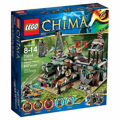 Lego Legends of Сhima 70014 The Croc Swamp Hideout