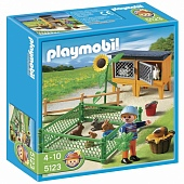 Playmobil 5123pm Ферма: Клетки для зайцев