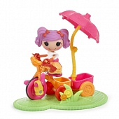 Кукла Mini Lalaloopsy 530411 Веселый спорт, велосипед