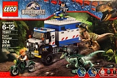 Lego Jurassic World 75917 Raptor Rampage (Ярость раптора)
