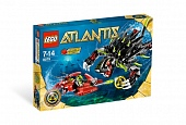 Lego Atlantis 8079 Shadow Snapper Бросок из тени