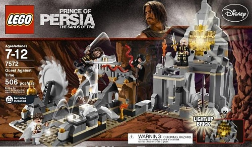 Lego Prince of Persia 7572 Quest Against Time Битва за время