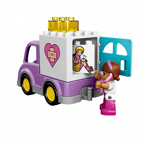 Lego Duplo 10605 Doc McStuffins Rosie The Ambulance