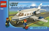 Lego City 7696 Commuter Jet