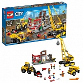 Lego City 60076 Building Demolition Снос старого здания