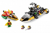 Lego Super Heroes 7885 Robin's Scuba Jet: Attack of the Penguin