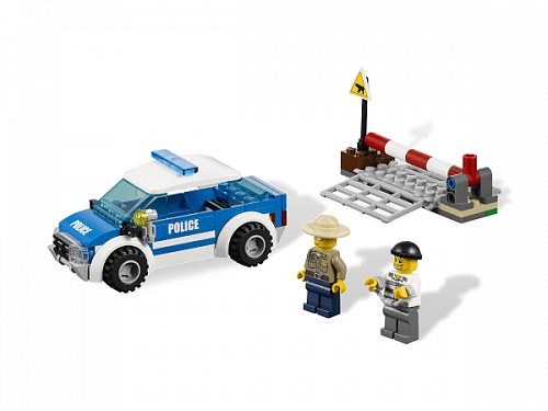 Lego City 4436 Police Patrol Car Патрульная машина