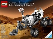 Lego Cuusoo  21104 NASA Mars Science Laboratory Curiosity Rover Марсоход MSL Curiosity