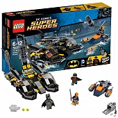 Lego Super Heroes 76034 The Batboat Harbor Pursuit Преследование на лодке