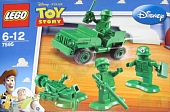 Lego Toy Story 7595 Army Men on Patrol (Военный патруль)