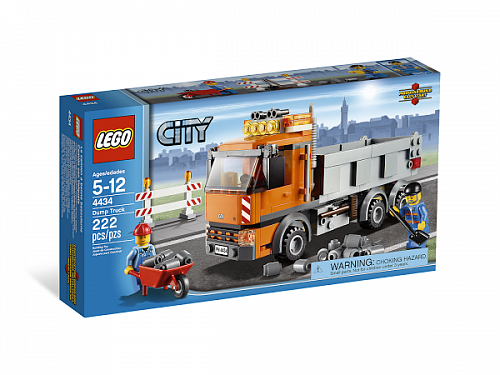Lego City 4434 Tipper Truck Самосвал