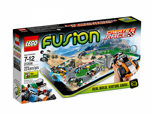 Lego Fusion 21206 Create and Race