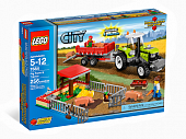 Lego City 7684 Pig Farm and Tractor Свиноферма и трактор