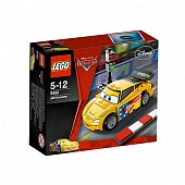 Lego Cars 9481 Jeff Gorvette Джеф Горвет