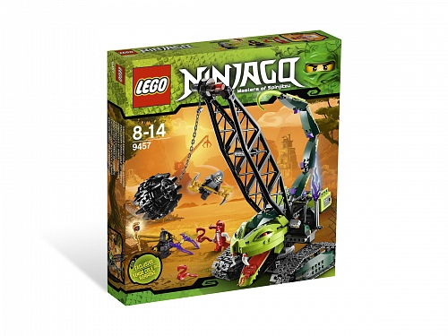 Lego Ninjago 9457 Crane Wrecking Ball