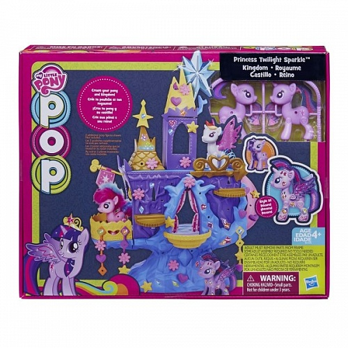 Игрушка My Little Pony B1376 Замок Твайлайт Спаркл