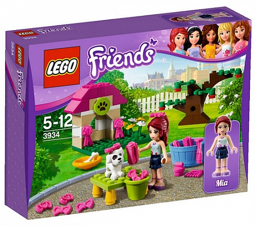 Lego Friends 3934 Mia's Puppy House Мия и ее щенок