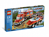 Lego City 4430 Fire Transporter