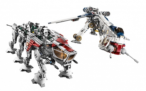 Lego Star Wars 10195 Republic Dropship with AT-OT Walker