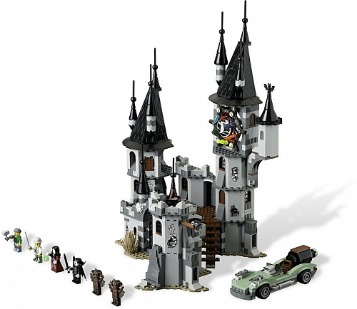 Lego Monster Fighters 9468 Vampire Castle Замок Вампиров