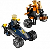 Lego Ultra Agents 8967 Gold Tooth's Getaway
